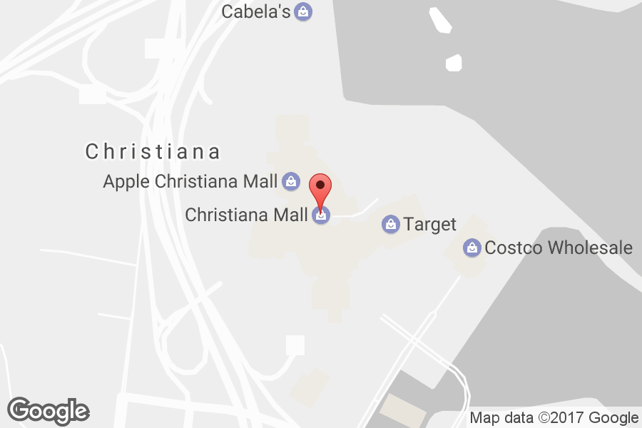 Map of Christiana Mall - Click to view in Google Maps